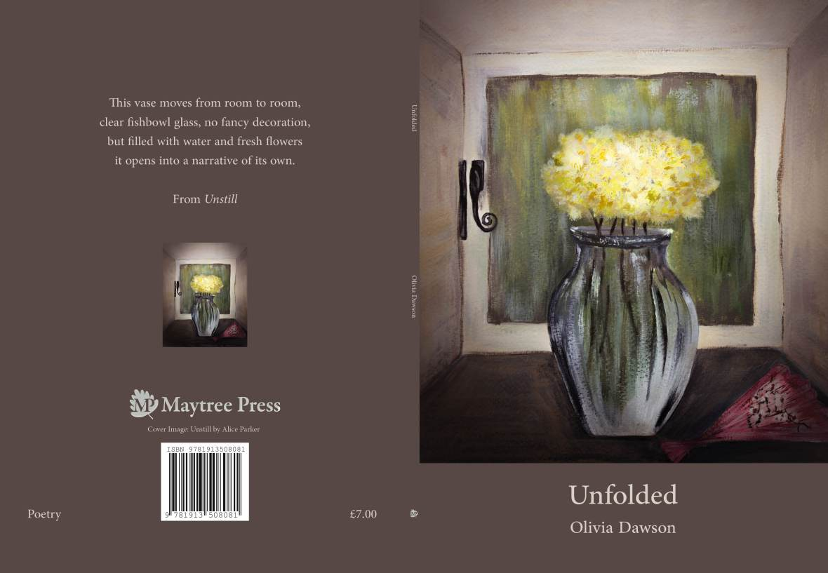 unfolded cover